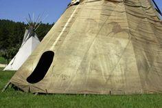 Lakota Tipi   Sioux Tipis, Wicoti Living History Lakota Encampment, Black Hills, SD ...