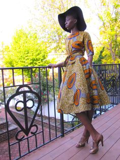 Hey, I found this really awesome Etsy listing at https://www.etsy.com/listing/210747868/mid-length-v-neck-cut-back-wrap-african