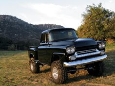 sweet 1958 Chevy Apache 4x4