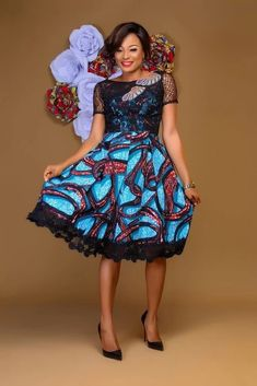 Short African Dresses, African Print Dresses, African Print Fashion, Africa Fashion, African Fashion Dresses, Ankara Fashion, African Wedding Attire, African Attire, African Wear