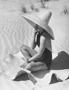 "hollyhocksandtulips: "" Photo by Fernand Fonssagrives """