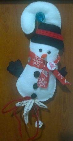 Appendino pupazzo di neve cm25