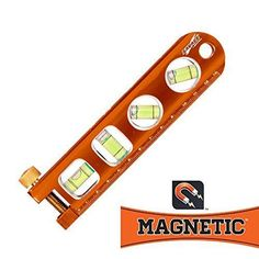 Offset Scale Tool Level Grip Strength Bright 6 Inch Heavy Duty Magnetic Torpedo. #Swanson