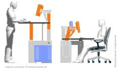 Mobilier ergonomique adapté à vos besoins spécifiques - CRAIE DESIGN