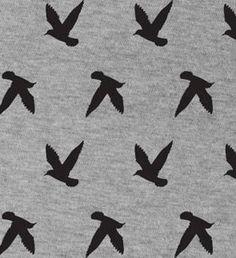 Nursing Scarf - Breastfeeding Cover - Nursing Cover - Infinity Scarf - Bird Silhouettes - Black and Gray on Etsy, $15.00