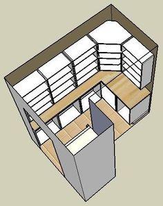 p/kuche-begehbar-in-pantry-designs-kleine-begehbare-speisekammer-ideen-kitchen-walk-in-pantry-desi - The world's most private search engine Pantry Laundry Room, Walk In Pantry, Ikea Laundry, Laundry Rooms, Pantry Shelving, Pantry Storage, Storage Room, Kitchen Pantry Design, Kitchen Decor