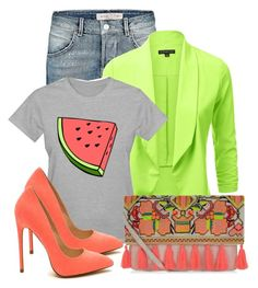 """Watermelon ♡"" by shaniquajenae ❤ liked on Polyvore featuring New Look"