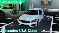 Mercedes-Benz CLA Class at LorySims • Sims 4 Updates
