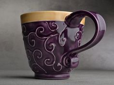 Doesn't a cup of hot mocoa sound wonderful in this lovely mug? I think this would end up being my favorite mug!