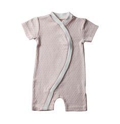 Organic Cotton Zip Kimono (Pink)