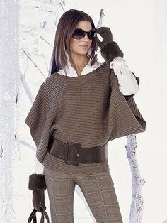 27 Knitted Women Pullover To Copy Now Women Pullover - 27 Knitted Wome. - 27 Knitted Women Pullover To Copy Now Women Pullover – 27 Knitted Women Pullover To Cop - Crochet Blouse, Crochet Poncho, Mode Outfits, Fashion Outfits, Womens Fashion, Poncho Pullover, Poncho Sweater, Poncho Outfit, Crochet Clothes