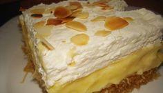 Greek Sweets, Greek Desserts, Greek Recipes, Cupcakes, Cupcake Cakes, Deserts, Lemon, Pie, Cooking Recipes