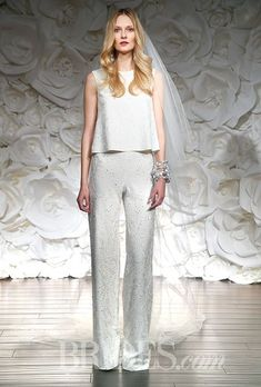 Brides: Naeem Khan Wedding Dresses Fall 2015 Bridal Runway Shows Brides.com | Wedding Dresses Style