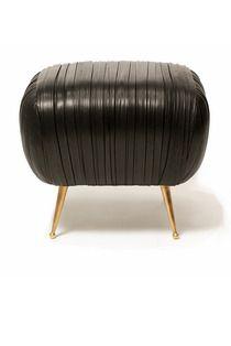 Souffle Ottoman #kellywearstler #furniture #design