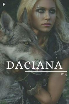 Daciana meaning Wolf Romanian names D baby girl names D baby names female n