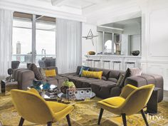These apartments are luxurious--and expansive. Step inside the most amazing apartments to grace the pages of Luxe.