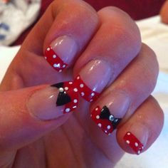 Discover new and inspirational nail art for your short nail designs. Learn with step by step instructions and recreate these designs in your very own home. Long Nail Designs, French Nail Designs, Acrylic Nail Designs, Acrylic Nails, Nail Design Kit, Nails Design, Natural Looking Nails, Rose Nail Art, Polka Dot Nails
