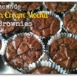 Homemade Irish Cream Mocha Brownies – #IcedDelight