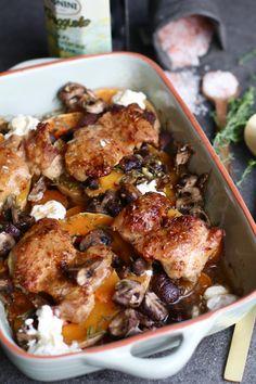 Herfstige kip-groenten schotel uit de oven - Beaufood