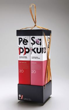 beautiful Taiwanese TK Food cookie packaging designs, by Victor Branding Lab (via Lovely Package.)