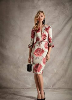 Esperanza García - Able Tutorial and Ideas New Dress Pattern, Dress Patterns, Office Dresses, Dresses For Work, Business Outfits, Mode Outfits, Women's Summer Fashion, Elegant Dresses, Plus Size Fashion