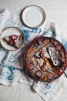 plum apricot clafoutis (gluten free dairy free recipe) | will frolic for food