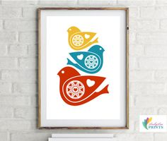 Nottingham Etsy// LoobyLouPrints Nursery Art and Mid Century Themed Prints for your Home