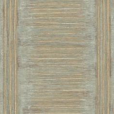 The Wallpaper Company 56 sq. Grey and Metallic Gold Large Natural Stripe with a Modern Twist Wallpaper - The Home Depot Wallpaper Companies, Wallpaper Samples, Vinyl Wallpaper, Wallpaper Ideas, Grey And Gold Wallpaper, Striped Wallpaper, Ornamental Mouldings, Prepasted Wallpaper, Do It Yourself Crafts