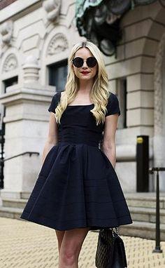 A Standard A-Line Dress