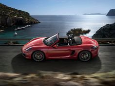 Porsche expands cayman and boxster family with GTS line-up