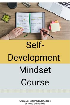 Self-Development Mindset Course. 6 videos and worksheets to help you develop a success mindset. You can't start a business without a success mindset Self Development, Personal Development, Success Mindset, Lead Generation, Starting A Business, Self Help, Online Courses, Create Yourself, Coaching