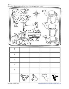 Classroom Freebies: Free Animal Christmas Graph Activity