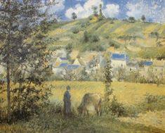 PISSARRO Camille - Paysage au Valhermeil