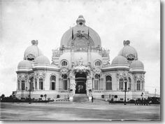 Praia Vermelha - exposição de 1908