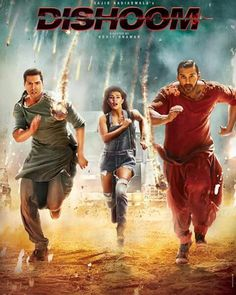 All New Latest Official Poster Look of Dishoom Bollywood Movie 2016 is here unveiled on 22 July. In this brand new poster Varun Dhawan, John Abraham and Jacqueline is there Dishoom, Bollywood Posters, Hd Movies Download, Movie Downloads, New Poster, Indian Movies, Latest Movies, Movie Trailers, Abu Dhabi