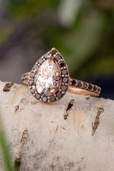 30 Moissanite Engagement Rings - Fantastic Diamond Alternatives | Oh So Perfect Proposal