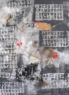 80x60 Öl/LW Sonja Zeltner-Müller Streetart - Collage/Acryl Kunstmüllerei Collage, Ebay, Art, Collages