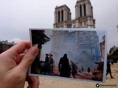 Assassins Creed Unity vs Real Life Paris.