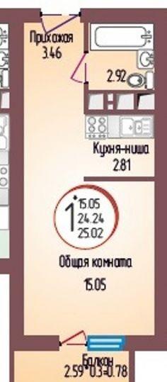 """Cтроящиеся дома / Студии, смарт, Краснодар, Душистая ул., 1 100 000 http://krasnodar-invest.ru/novostroyki/smart/realty242335.html Продаю 1 ккв Молодежный, 2/7мк,25кв,квартира-студия,новый монолит-кирпичный дом ЖК """"Душистый"""", отличная планировка,место и цена, высокие потолки, грузовой лифт,благоустроенная территория, очень развитый микрорайон, экологически-чистый район,рядом школа,д/сад, прогулочная зона, много магазинов, ТЦ, фитнес-центр, много общественного транспорта, продажа без % от…"""