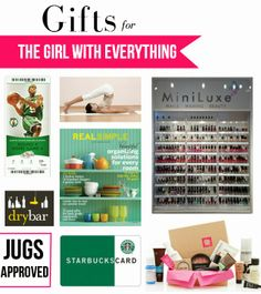 Holiday Gift Guide Vol. 6: The Girl Who Has Everything