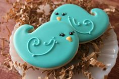 bluebird cookies :) a little birdie told me these are awesome