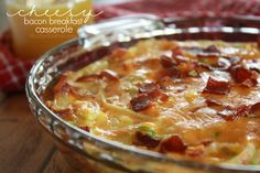 This Bacon, Egg, Cheese and Hashbrown Breakfast Casserole will make you feel as if you baked a quiche, but is actually quite easier and just as delicious!