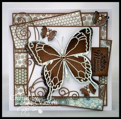 Memory Box Chloe Butterfly, matching full die called Tristan