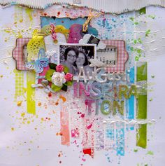 #papercraft #washi Make layouts using washi-frame images with the tape or create borders on the page