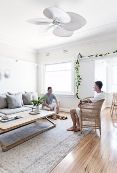 Interior designer Tim Connah and his partner Grae cleverly transformed their one-bedroom Manly apartment into a cool coastal abode. Fashion Room, Lounge Room Styling, Home, Interior Spaces, Room Inspiration, House Interior, Living Room Inspiration, Interior Design, House And Home Magazine