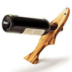 Wine Bottle Holder (Free Downloadable Plan)