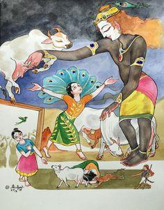 11. Meghashyama. #Tiruppavai #krishnafortoday