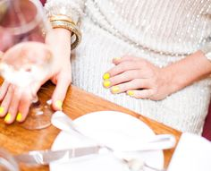 yellow + sparkle