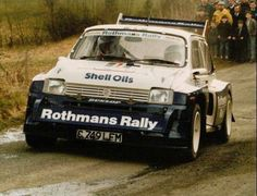 MG Metro rally car Rally Raid, Classic Race Cars, Car And Driver, Classic Mini, Dream Garage, Car Show, Sport Cars, Cars And Motorcycles, Cool Cars