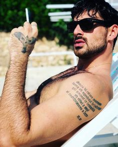 Michele Morrone Hairy Men, Bearded Men, Hottest Guy Ever, Just Beautiful Men, Daddy Aesthetic, 365days, Italian Men, Hommes Sexy, Celebs
